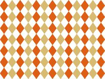 Retro rhombus background design. Seamless vintage backdrop. Harmonic autumn colors. Retro rhombus background design. Harmonic autumn colors. Seamless vintage stock illustration