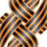 Retro, ribbon, russia, russian, scroll, stylized, Royalty Free Stock Image