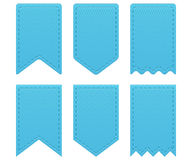 Retro ribbons a tags Stock Photography