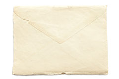 Retro ripped envelope Stock Photos