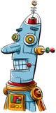 Retro robot Immagini Stock