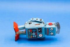 Retro robot toy. Retro robot toy Stock Photo