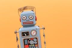 Retro robot toy. Retro robot toy Royalty Free Stock Image