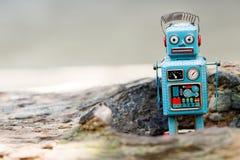 Retro robot toy. Retro robot toy Stock Images