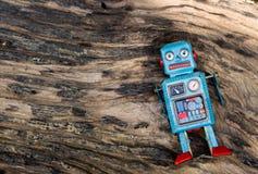 Retro robot toy. Retro robot toy Royalty Free Stock Images
