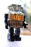 Retro Robot van het Stuk speelgoed Stock Fotografie