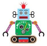 Retro robot Royalty Free Stock Image
