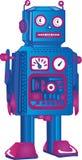 Retro- Roboter Lizenzfreie Stockfotos
