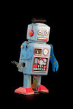 Retro- Roboterspielzeug Lizenzfreies Stockfoto