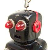 Retro robothoofd Royalty-vrije Stock Foto's