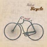 Retro rocznika Bicykl royalty ilustracja