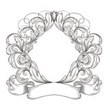 Retro rocznika emblemat Obrazy Royalty Free