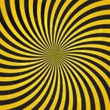 Retro rocznika Grunge Background.Vector Hipnotyczna ilustracja Zdjęcia Royalty Free