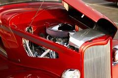 Retro Rod Automobile Engine caldo fotografia stock