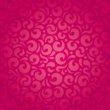 Retro rode vectorontwerp van het patroonbehang Stock Afbeeldingen