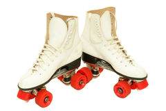 Retro Roller Skates Stock Photo