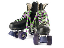 Retro roller skates Royalty Free Stock Image