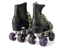 Retro roller skates Royalty Free Stock Images