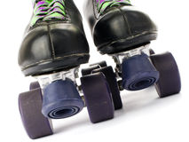 Retro roller skates Stock Photography