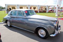 Retro Rolls-Royce Silver Cloud Royalty Free Stock Photography