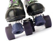 Retro rolschaatsen Stock Fotografie