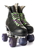 Retro rolschaatsen royalty-vrije stock foto's