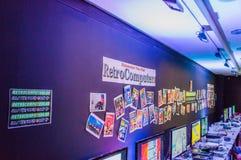 Retro room Stock Photo