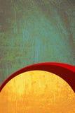 retro rostig tappning för grungemodell Arkivbild