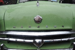 Retro Rosyjski samochodowy Moskvich (Moskovite) Fotografia Stock
