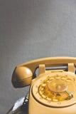 Retro rotary dial telephone Royalty Free Stock Photography