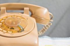 Retro rotary dial telephone Royalty Free Stock Photos