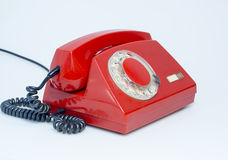 Retro rotary phone Royalty Free Stock Photo