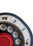 Retro Roterende Wijzerplaat van de Telefoon Stock Foto's