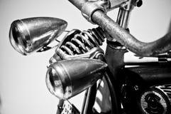 retro rowerowi reflektory Obrazy Stock