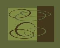 Retro rug graphic design royalty free illustration