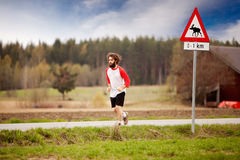 Retro Runner Royalty Free Stock Image