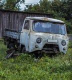 Retro Russian car Stock Photos
