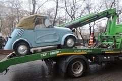 Retro Russian car Stock Photography