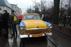 Retro Russian car Royalty Free Stock Photos