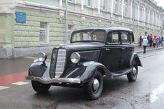 Retro Russische auto Stock Afbeeldingen