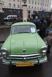 Retro Russische auto Royalty-vrije Stock Foto