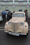 Retro Russische auto Stock Afbeelding