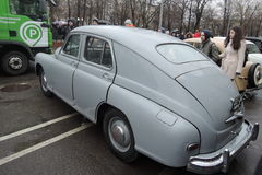 Retro Russische auto Royalty-vrije Stock Foto's