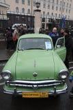Retro Russische auto Moskvich Royalty-vrije Stock Afbeeldingen