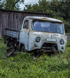 Retro- russisches Auto stockfotos