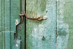 Retro rusty hook Stock Image