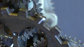 Retro Rusty Mechanic Clock Gears. Photo stock images
