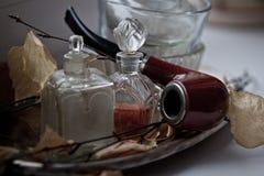 Retro rzeczy na stole zdjęcie royalty free