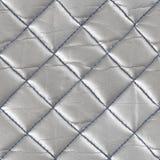 Retro sömlös modell av geometriska former Metallisk sänka för läder Arkivfoto