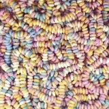 Retro- süße Süßigkeitsmanschetten und -halskette stockfoto